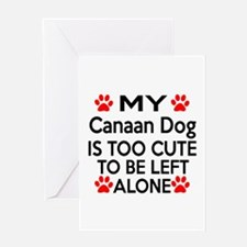 Canaan Is Too Cute Greeting Card