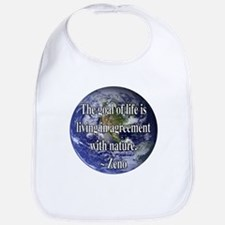 Living With Nature Quote Bib