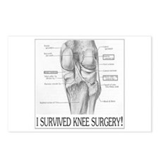 Knee Surgery Gift 8 Postcards (Package of 8)
