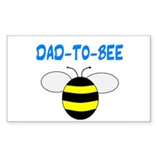 DAD-TO-BEE Rectangle Decal