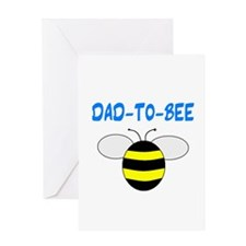 DAD-TO-BEE Greeting Card