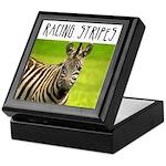 Racing Stripes Keepsake Box