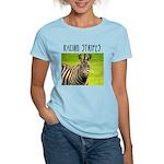 Racing Stripes Women's Light T-Shirt