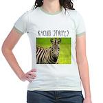 Racing Stripes Jr. Ringer T-Shirt
