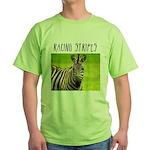 Racing Stripes Green T-Shirt