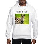 Racing Stripes Hooded Sweatshirt