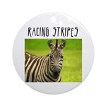 Racing Stripes Ornament (Round)