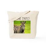 Racing Stripes Tote Bag