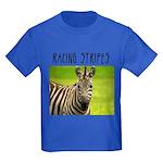 Racing Stripes Kids Dark T-Shirt