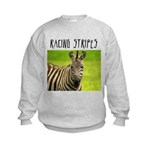 Racing Stripes Kids Sweatshirt
