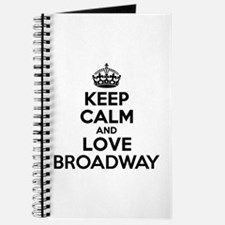 Keep Calm and Love BROADWAY Journal