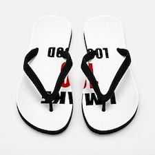 I Make 100 Look Good Flip Flops