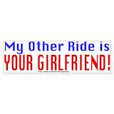 Cheating husband sticker Single