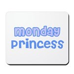 Monday Princess Mousepad