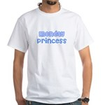 Monday Princess White T-Shirt
