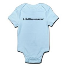 Do I Look Like a People Person? Infant Bodysuit