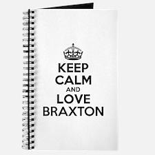 Keep Calm and Love BRAXTON Journal