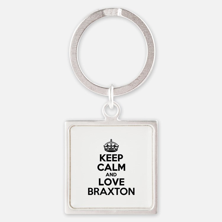 Keep Calm and Love BRAXTON Keychains