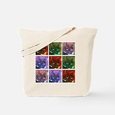 Unique Pop art cat Tote Bag