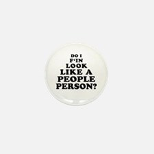 Rude People Person Mini Button (10 pack)