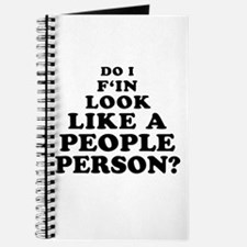 Rude People Person Journal