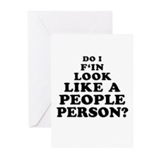 Rude People Person Greeting Cards (Pk of 10)