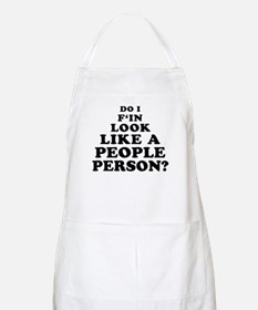 Rude People Person BBQ Apron