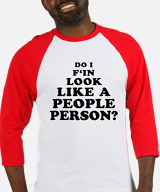Rude People Person Baseball Jersey