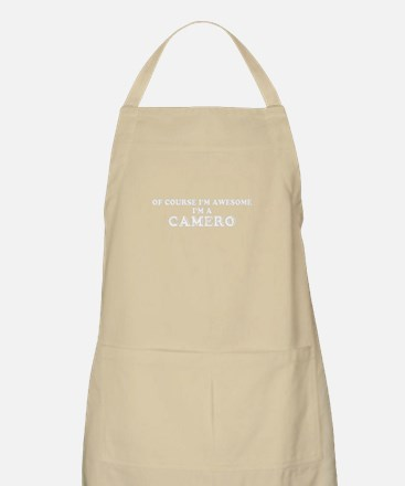 Of course I'm Awesome, Im CAMERO Apron
