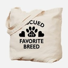 Cool Animal rescue Tote Bag