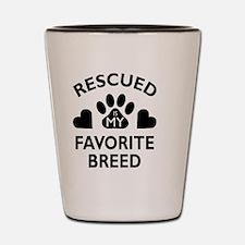 Unique Animal rescue Shot Glass