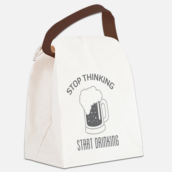 Funny Silly saying Canvas Lunch Bag