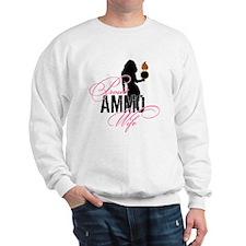 AMMO Wife with Piss Pot  Sweatshirt