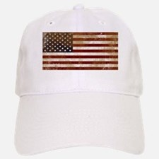 Worn out American Flag Baseball Baseball Baseball Cap