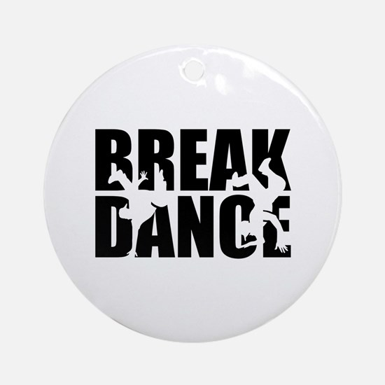 Breakdance Round Ornament