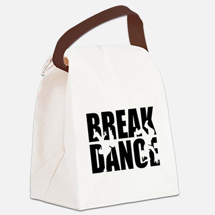 Breakdance Canvas Lunch Bag