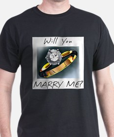 Marry Me Ash Grey T-Shirt