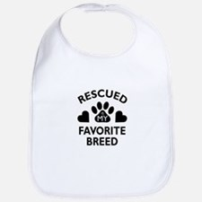 Rescued Breed Bib