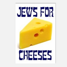 Jews for Cheeses Postcards (Package of 8)