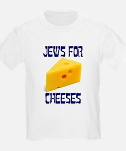 Jews for Cheeses Kids T-Shirt