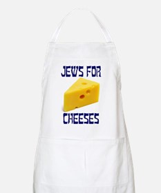 Jews for Cheeses BBQ Apron