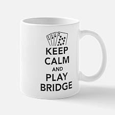 Keep calm and play bridge Mug
