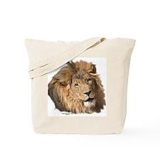 Caring Lion Tote Bag