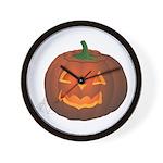 Halloween Wall Clock Jack-o-lantern art