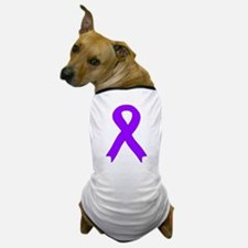Violet Ribbon Dog T-Shirt