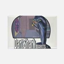 Dart Shark Darts Rectangle Magnet