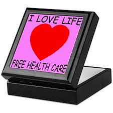 I Love Life Free Health Care Keepsake Box