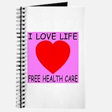 I Love Life Free Health Care Journal