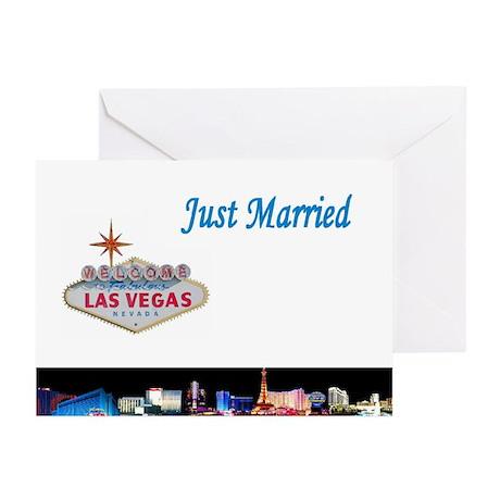 Las Vegas Just Married Cards (Pk of 10)