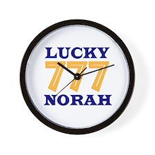 Lucky Norah Wall Clock